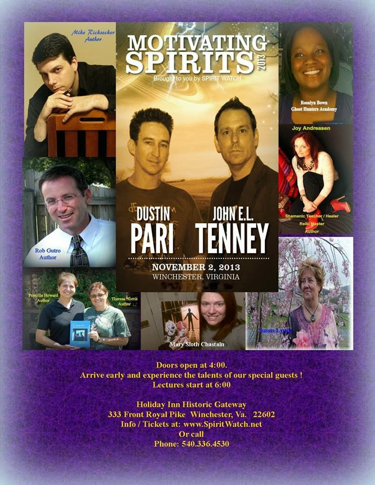 Amazing Time @Spirit Watch: Motivating Spirits Conf,: Dustin Pari/John Tenney