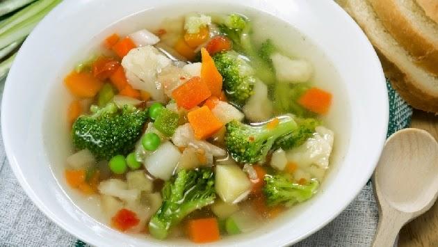 Sopa Clasica de Verduras