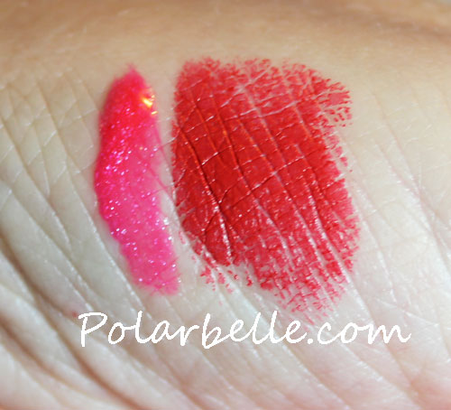 swatches, giveaway, autograph, midnight memories makeup collection