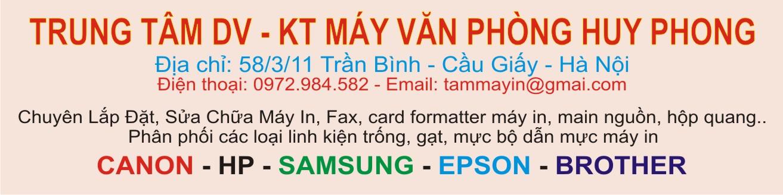 Trung Tâm DV - KT Máy Văn Phòng Huy Phong