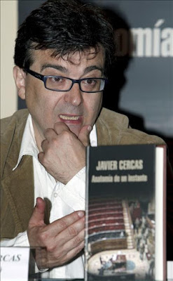 Javier Cercas, autor de Anatoma de un instante