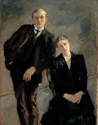 Max bekmann et minna , 1909