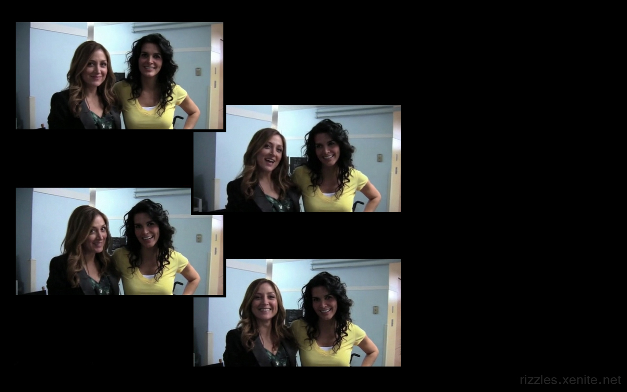 Angie & Sasha Wallpapers from Back in Production