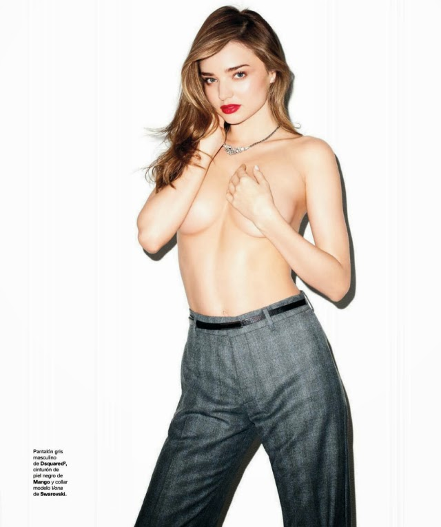 Miranda Kerr en Harper's Bazaar