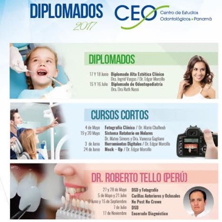 Diplomado de Odontopediatria CEO!