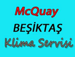 McQuay Beşiktaş Klima Servis