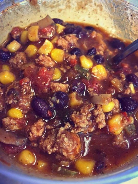 healthy smoky chipotle pepper turkey chili recipe