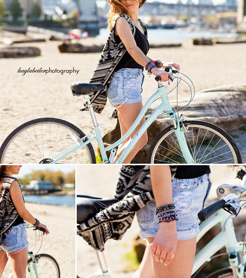 cruiser bike in lifestyle photo