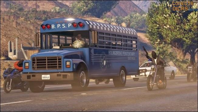 Heists GTA V - Missão onibus