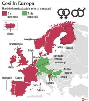 unioni omosessuali in europa Pozzuoli