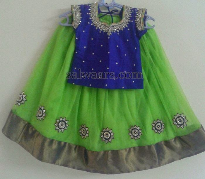 Leafy Green Skirt 4800 Rupees