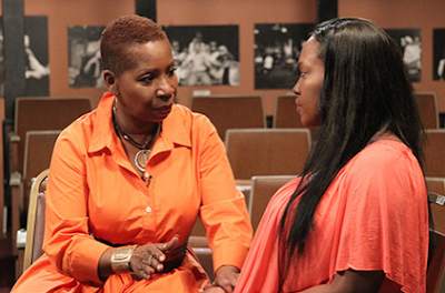 Maia Campbell on Iyanla Fix My Life