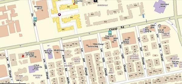 Hexacube @ Changi Location Map