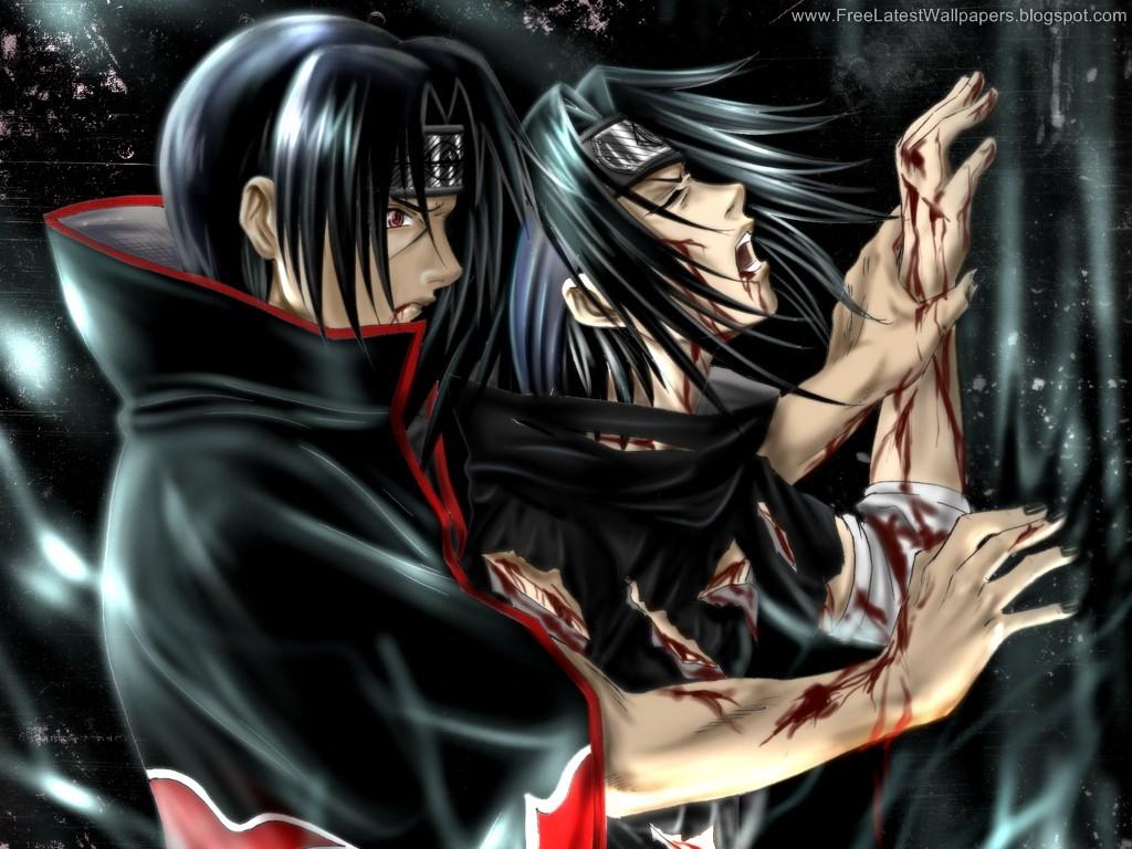 Sasuke And Itachi Uchiha Brothers