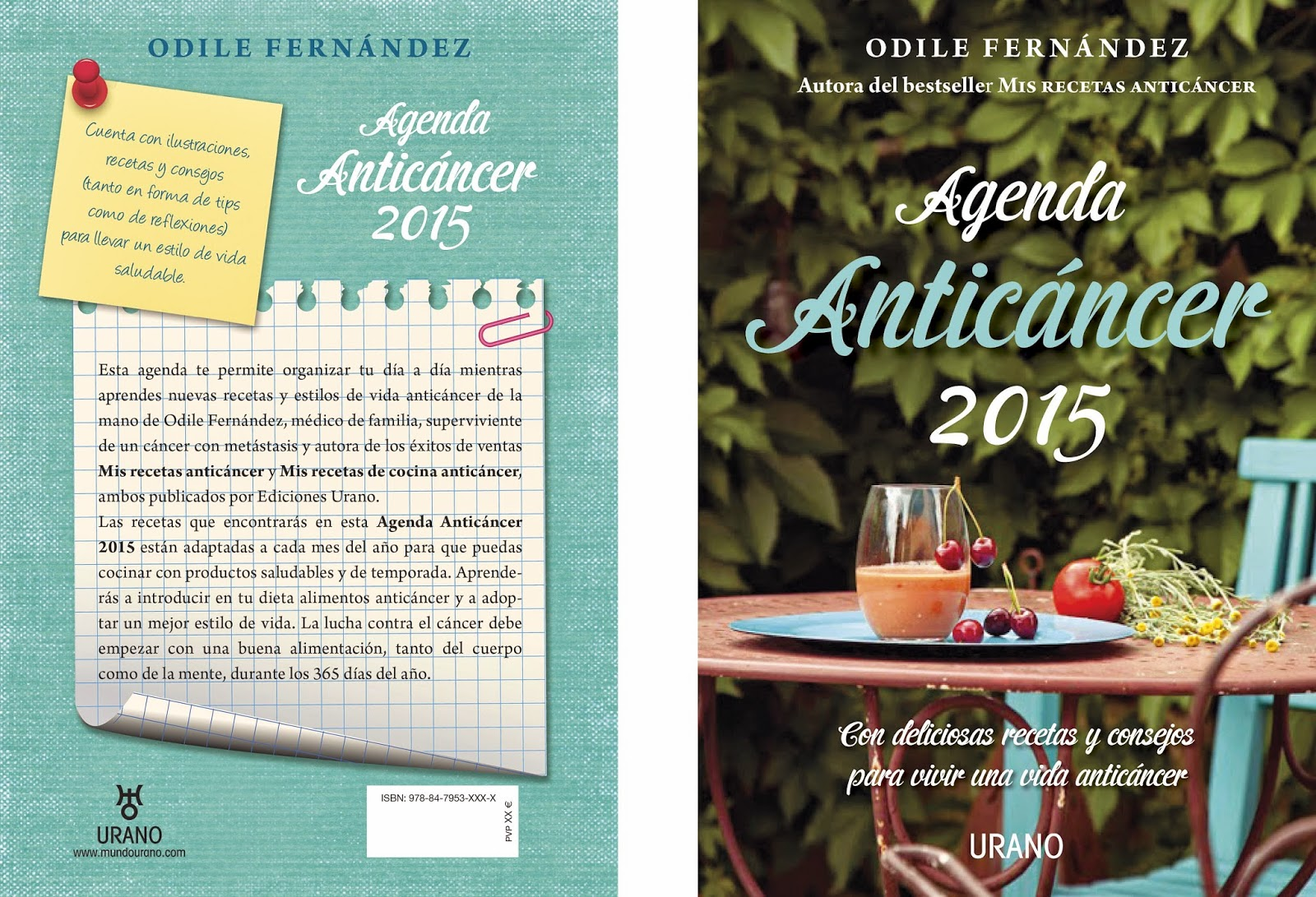 odile fernandez, anticancer, cancer, alimentacion, agenda