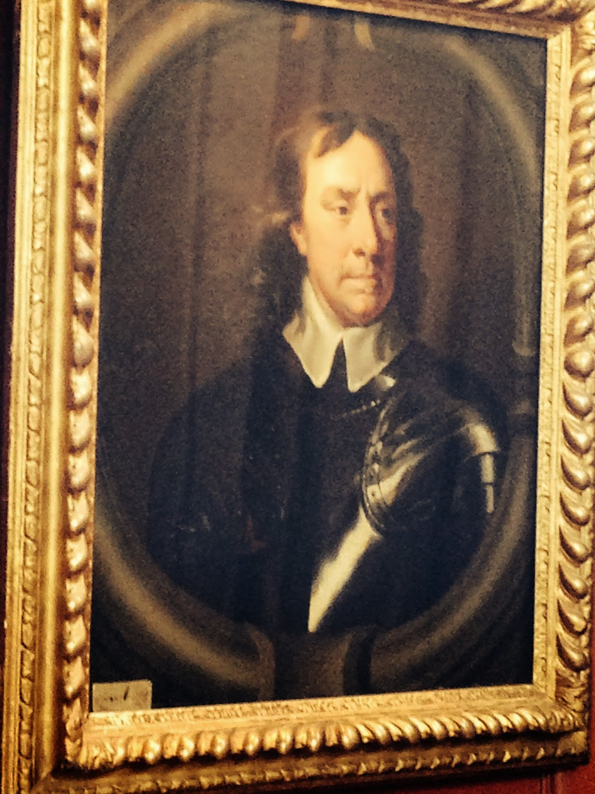 oxford cambridge boat race nyc  portrait of oliver cromwell 1599 1658 hanging in hall at sidney sussex college cambridge photo by jt marlin 2014