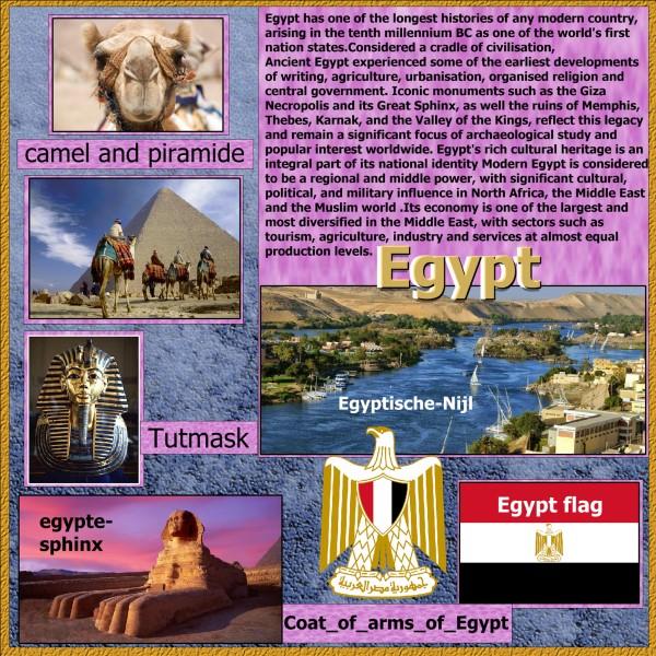 May 2016 – Egypt