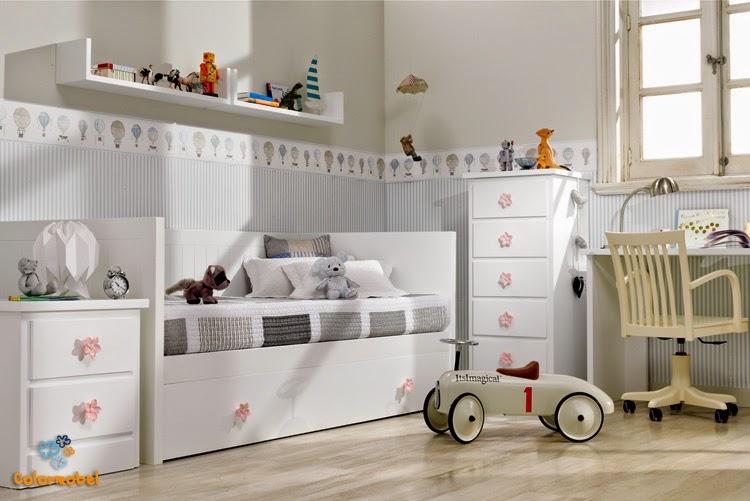 Decoracion de habitaciones infantiles for Dormitorios juveniles cama nido doble