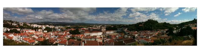 Alcobaca city scape