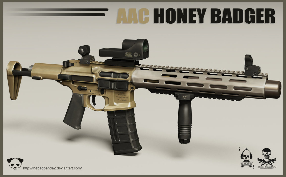 Honey Badger Gun
