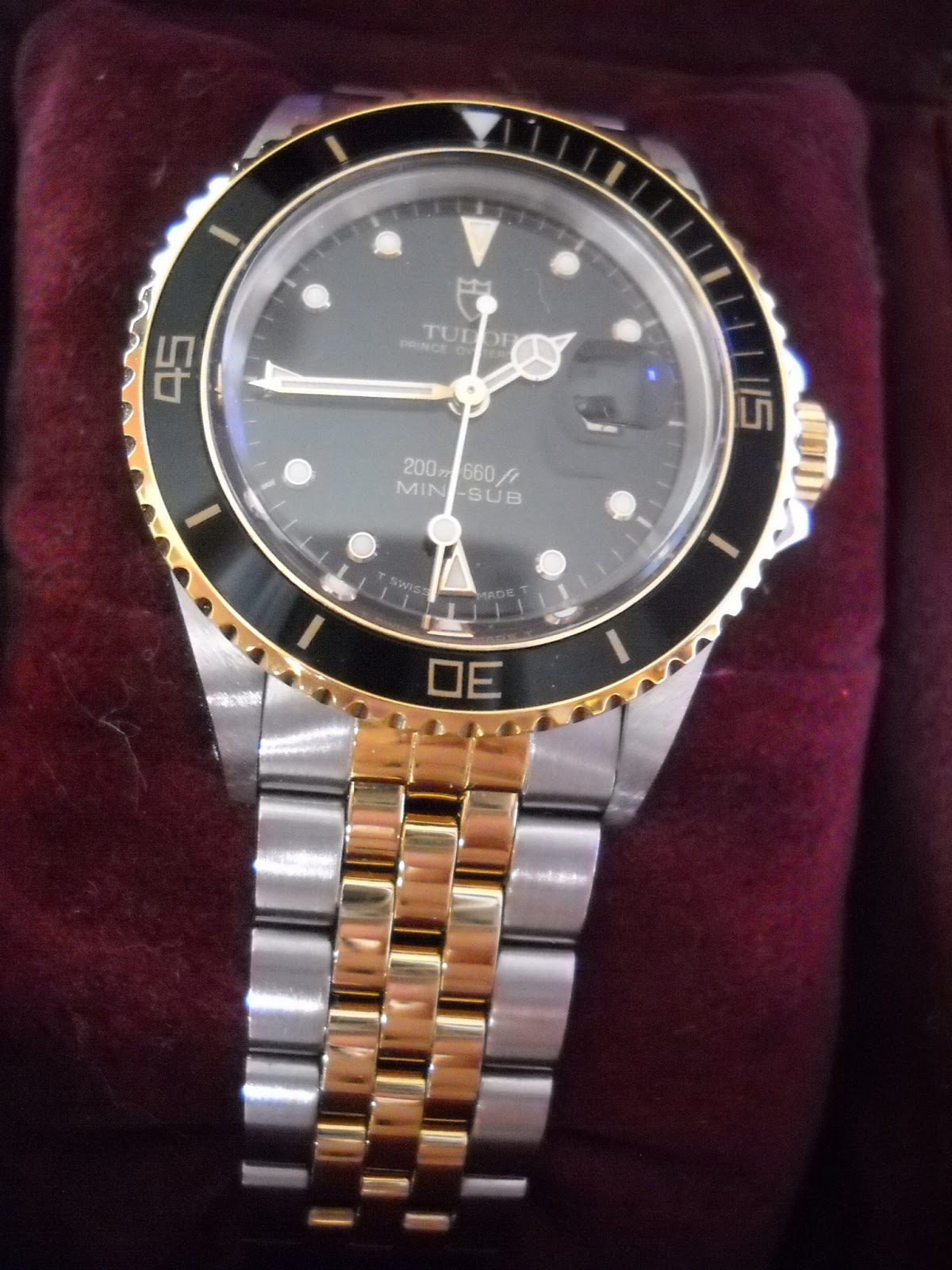 dating rolex tudor watches Tudor did make the date+day with a blue dial, though i'm not the person to ask about the 116200, because i'm allergic to just about all of the six-digit rolex watches i'm just not a fan of the bigger, flashier style.