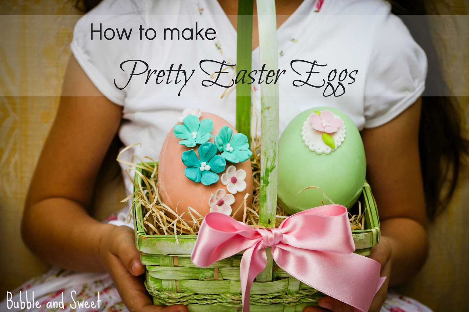 bubble and sweet how to make pretty chocolate easter eggs