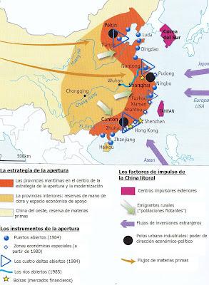Doc. 1  La China litoral, motor del dinamismo económico