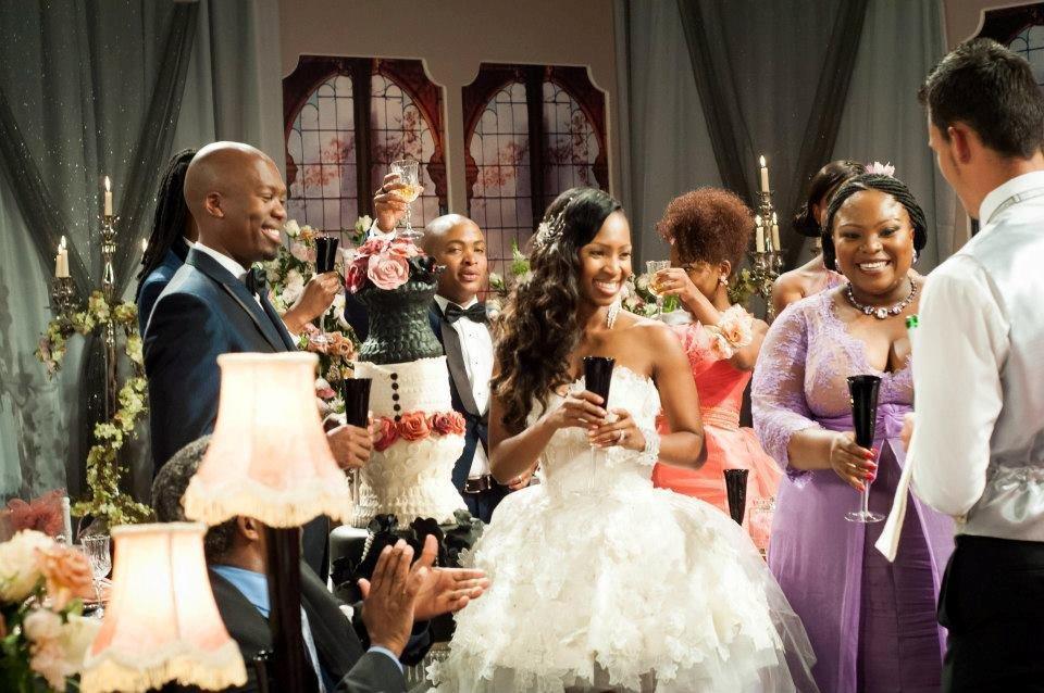 Celebrity Wedding- Generations Dineo and Phenyo ~ Wedding Bells
