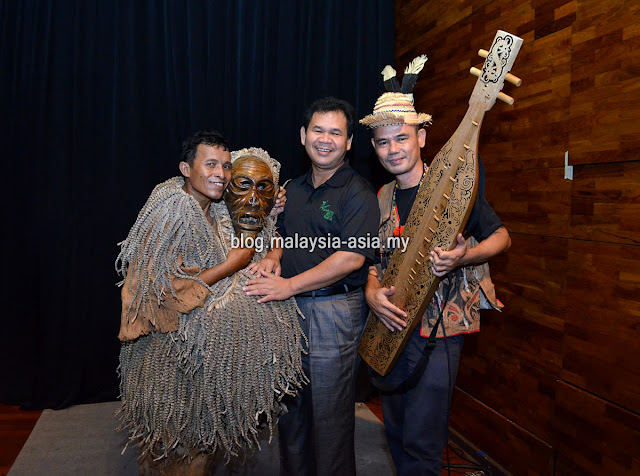 Datu Ik Pahun Rainforest World Music Festival Media Preview