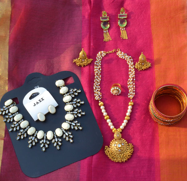 Indian jewellery haul perkymegs