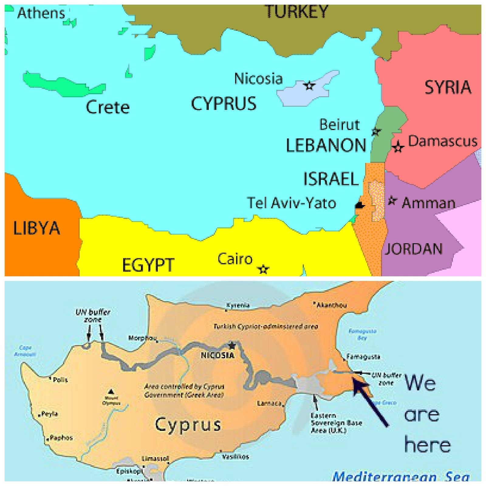 A matter of choice our little bit of cyprus cyprus is the third largest island in the mediterranean sea after sicily and sardinia in case you were wondering and although part of europe we are gumiabroncs Image collections