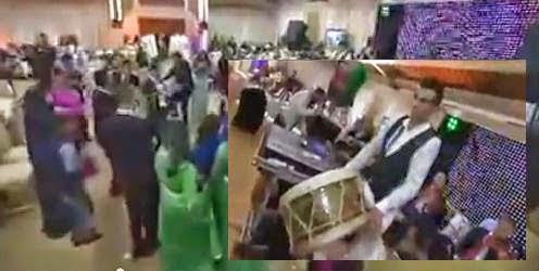 بالفيديو.. لحظة وفاة «طبال» في حفل زفاف.