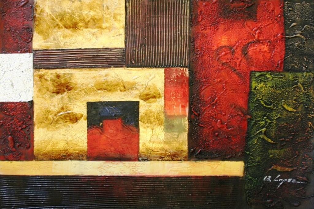 cuadros abstractos al leo