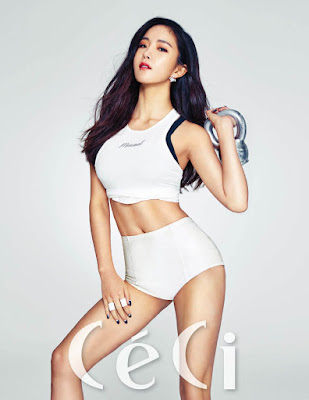 Jaekyung and Hyunyoung Rainbow - Ceci Magazine January 2016