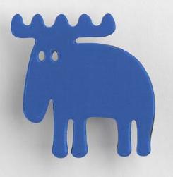 blue elk magnet