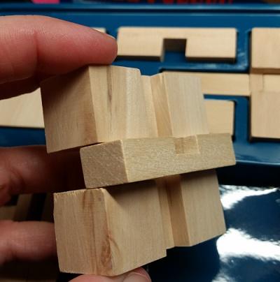 Professor Murphy Wooden Puzzle Set wooden pieces