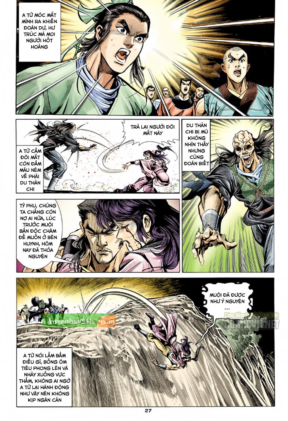 Thiên Long Bát Bộ chap 100 – End Trang 28 - Mangak.info