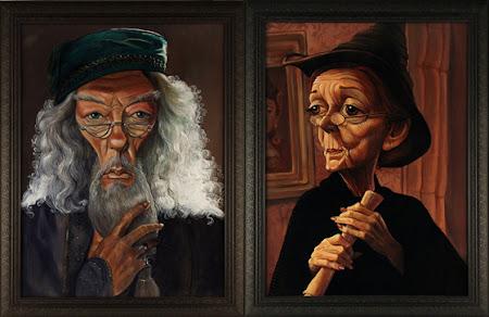 Desenhos de Harry Potter em exposição na web vira febre