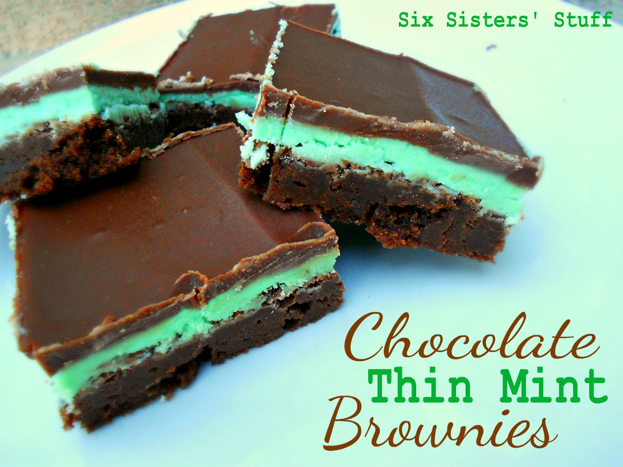 Chocolate Mint Dessert Brownies Recipes — Dishmaps