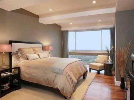 Fotos de dormitorios principales o matrimoniales decorar for Neutral master bedroom paint colors