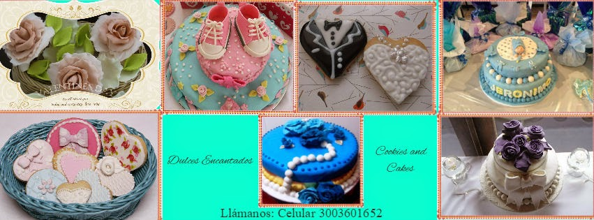 Dulces Encantados. Cookies  And; cakes
