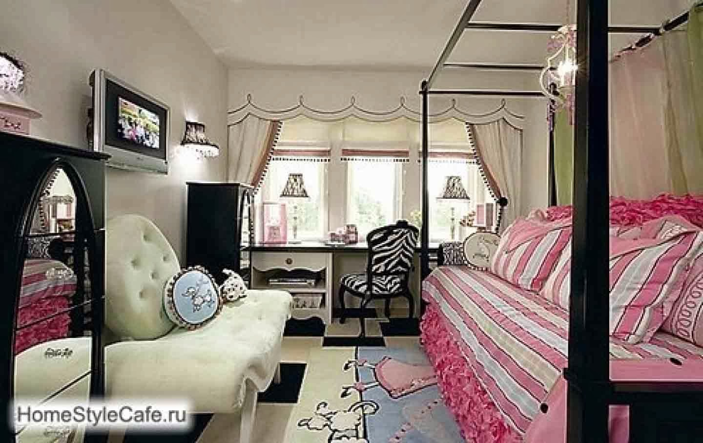 Country teenage girl bedroom ideas wall color - Girl colors for bedrooms ...