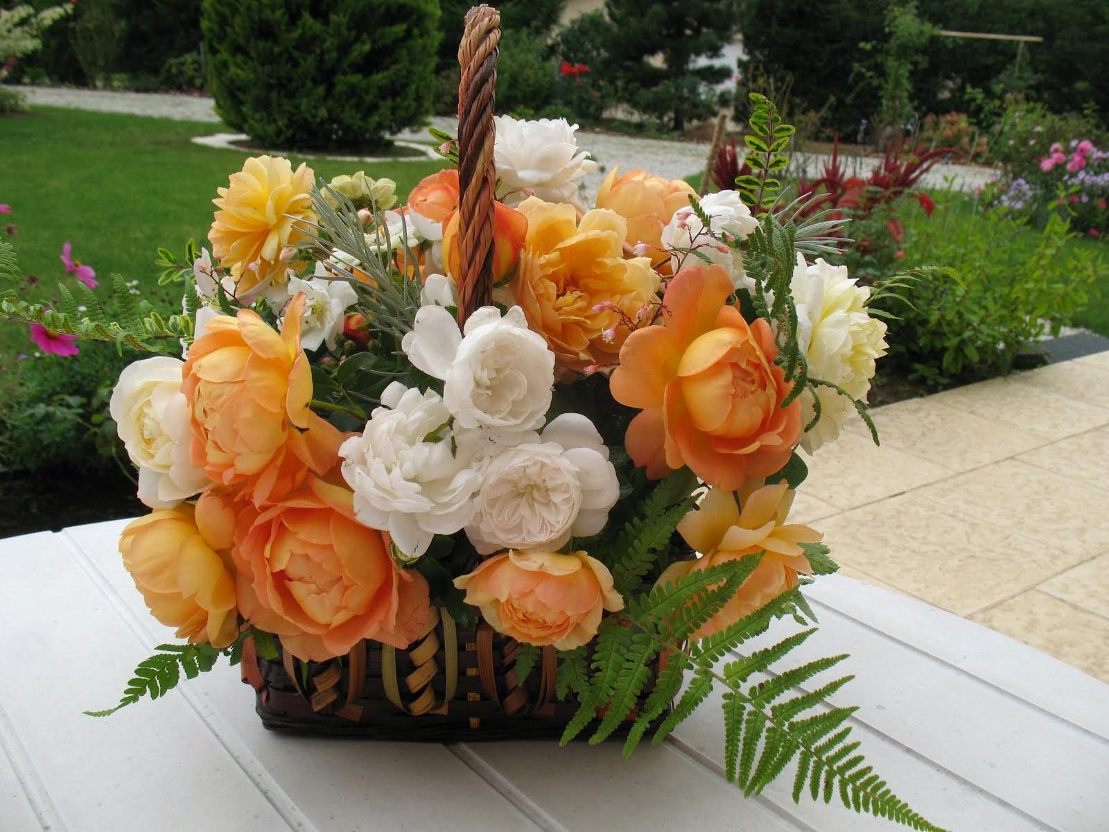 Une Lady en bouquet...