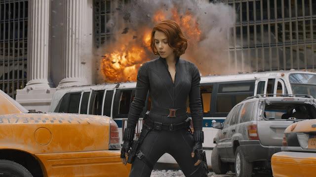 the Avengers - la Vedova Nera (Scarlett Johansson)