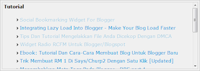 Link Related Posts Blogger Yang Menguirkan v2