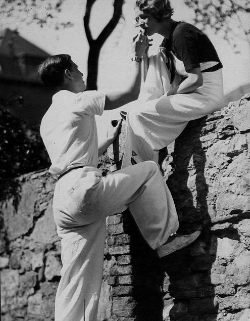 Casual Chic 1930s #vintage #fashion #1930s #menswear