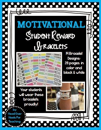 http://www.teacherspayteachers.com/Product/Motivational-Reward-Bracelets-1244575