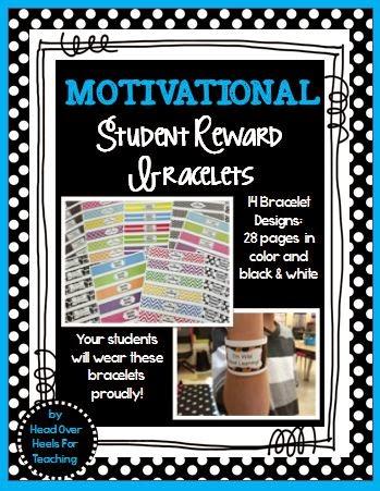 http://www.teacherspayteachers.com/Product/Motivational-Reward-Bracelets-1244575