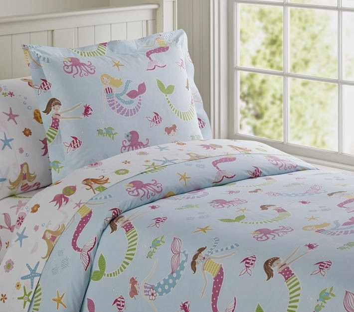 Pottery Barn Kids nautical sheet sets Spring 2014