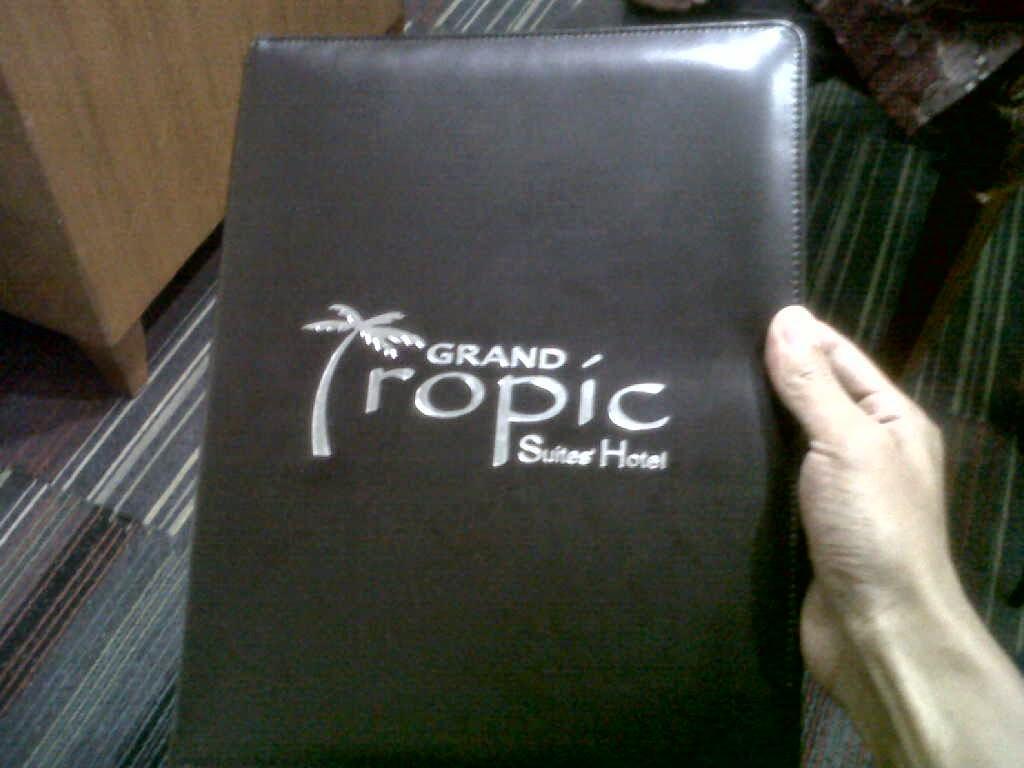 cover agenda grand tropic